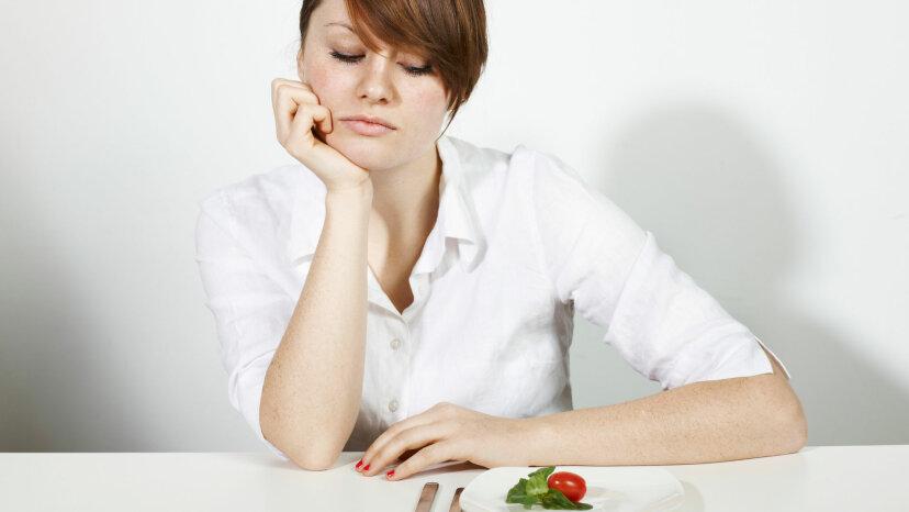 Nach dem Abnehmen ist Hunger ein lebenslanger Satz