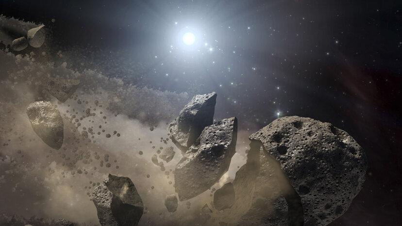 白色矮星は惑星を細かく砕くことができます