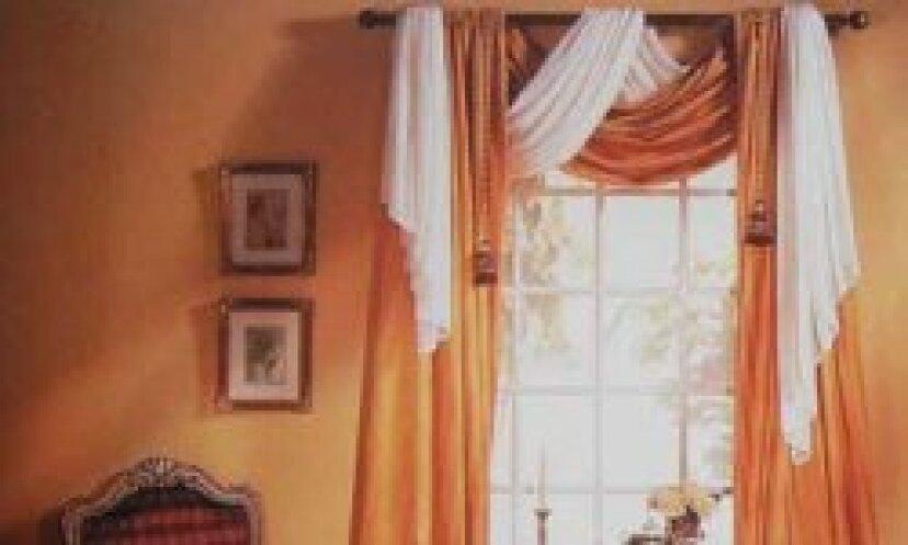 窓のスカーフを掛ける方法