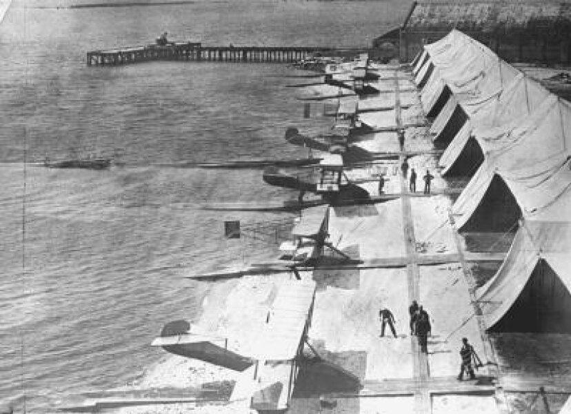 第一次世界大戦のフライトタイムライン
