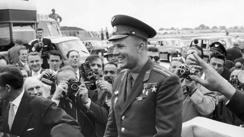 Yuri Gagarin, London