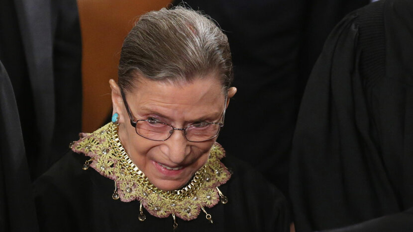 Ginsburg, Obama's State of Union speech
