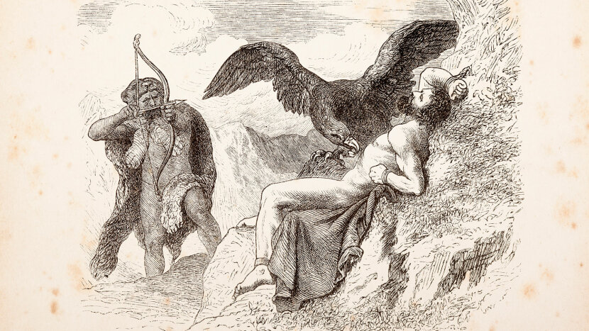 Prometheus, eagle