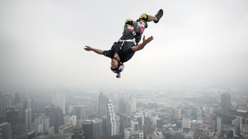 Base jumper and Frenchman Vincent Philippe Benjamin Reffet