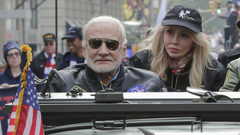 Buzz Aldrin, veterans day parade