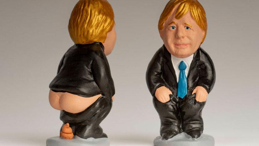 Boris Johnson, caganer
