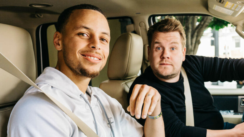 Stephen Curry,  James Corden, Carpool Karaoke