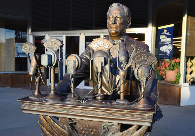 franklin d. roosevelt statue