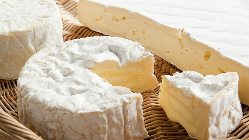 Camembert  and Brie