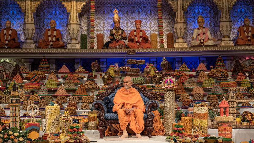 Neasden Temple, Diwali