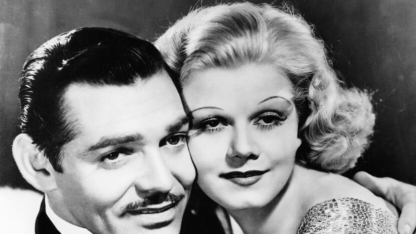 Jean Harlow, Clark Gable