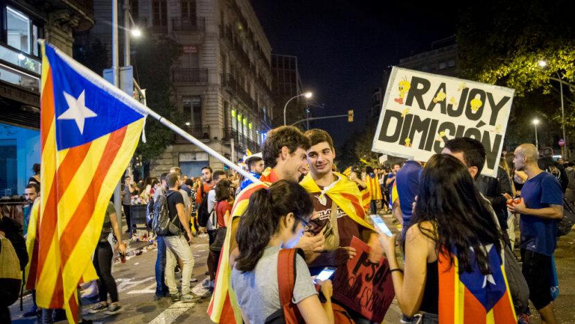 Catalonia general strike