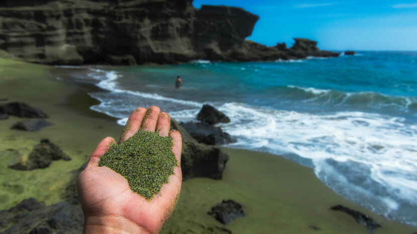 olivine beach Hawaii