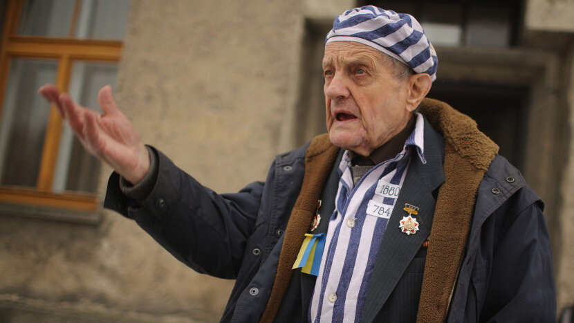 Holocaust survivor Igor Malicky