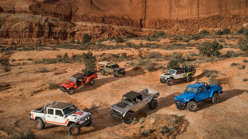 Jeep Celebrates The Gladiator At Easter Jeep Safari