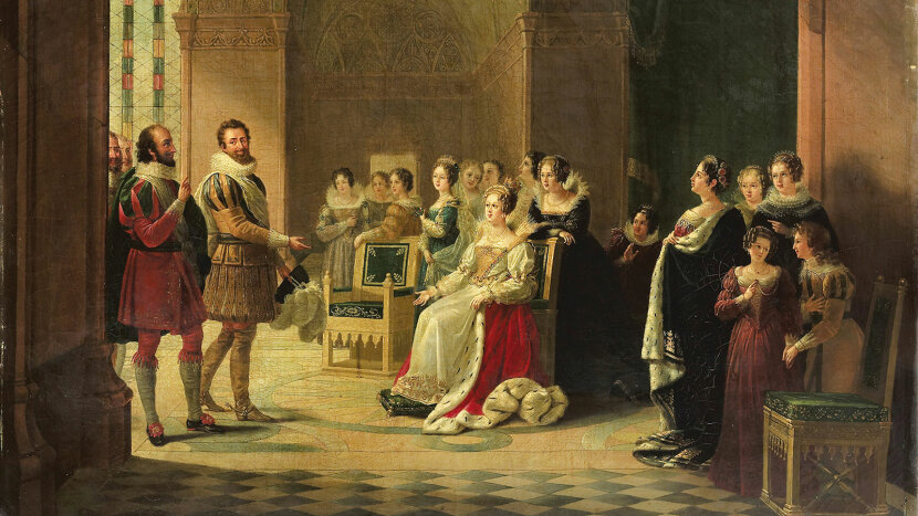 Henry IV and Catherine de Medici