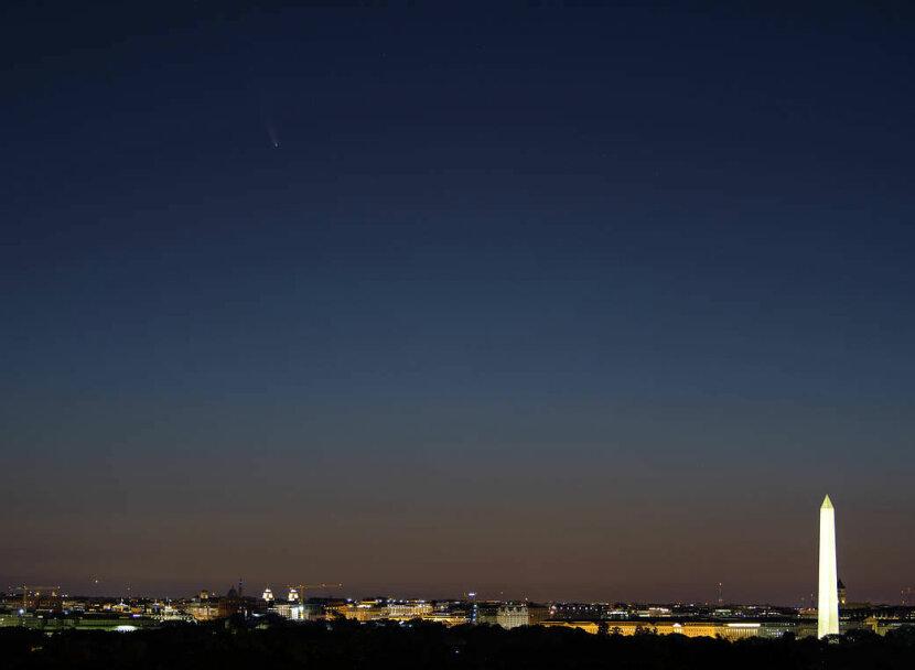 Comet Neowise, D.C.