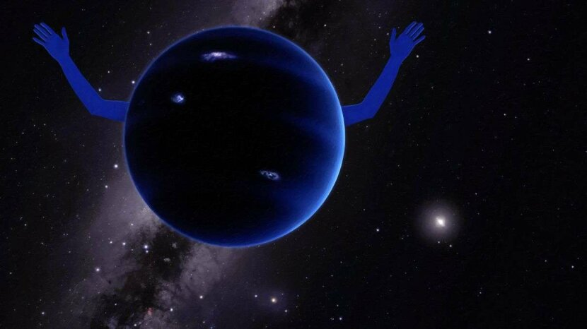 Illustration of Planet Nine
