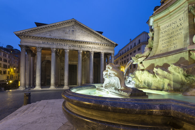 pantheon, rome, ancient rome