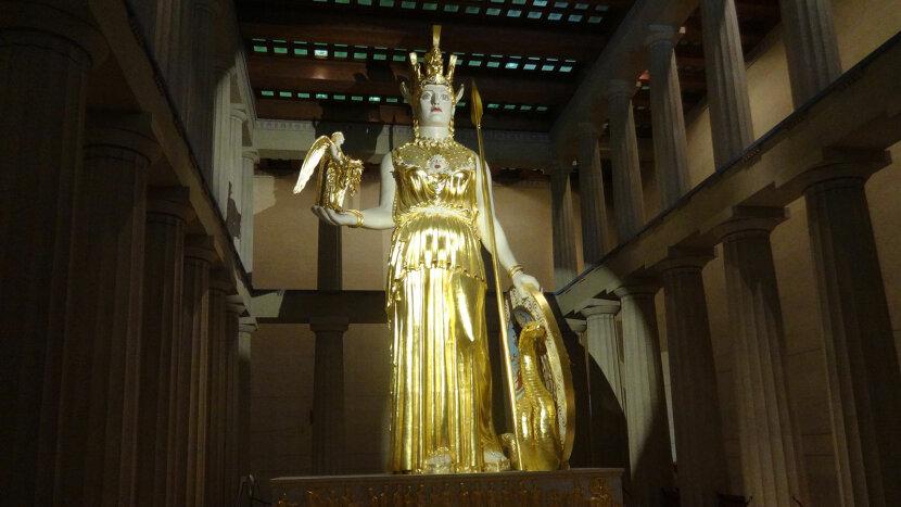 Athena statute, Nashville Parthenon