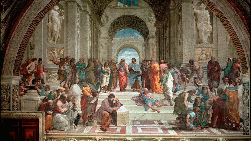 """The School of Athens"" painting"