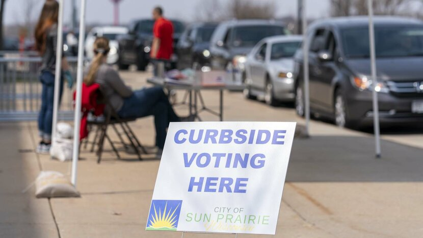 curbside voting