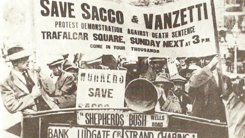 Sacco and Vanzetti, trial