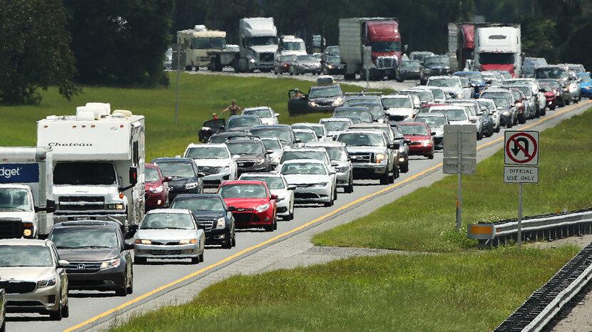 Irma traffic