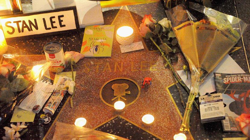 Stan Lee memorial