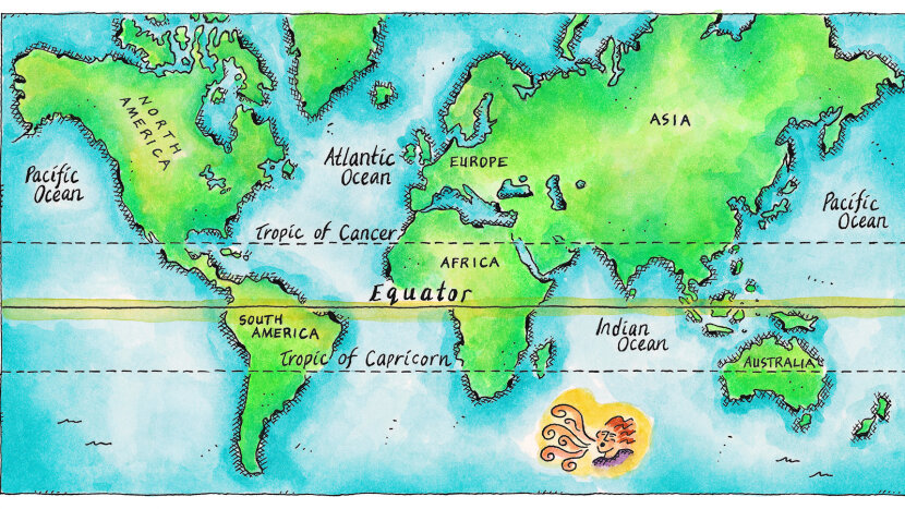 tropic of cancer world map Why Is The Tropic Of Cancer Important Howstuffworks