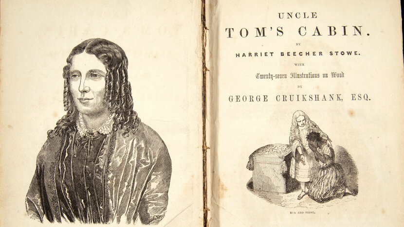 Uncle Tom's Cabin; Harriet Beecher Stowe