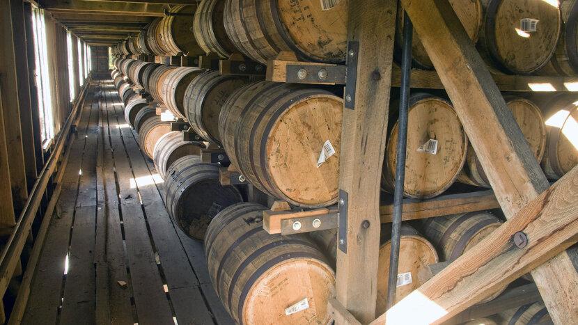 Jack Daniel's barrelhouse