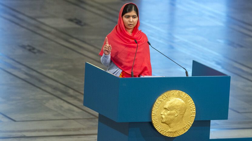 teens changing the world Malala