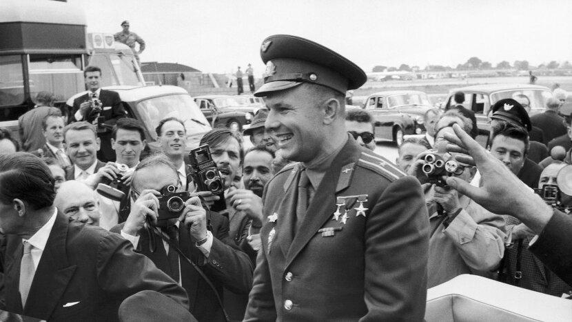 Yuri Gagarin, London