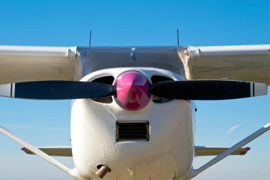 Is that a mustache or a propeller? iStockphoto/Thinkstock