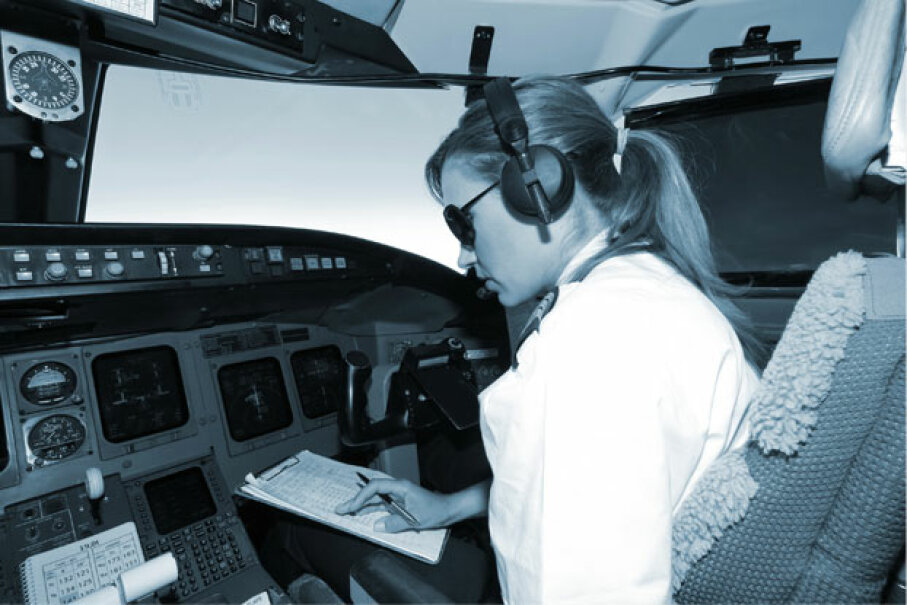 Not all modern aircraft have an autopilot system, but many do, and it can assist with everything from taking off to cruising and landing. iStockphoto/Thinkstock