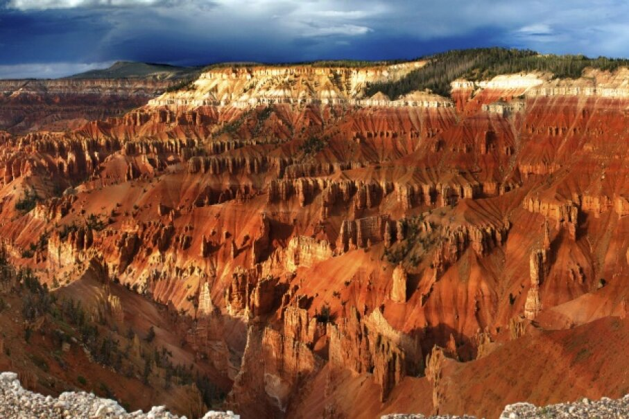 Patchwork will take you to Cedar Breaks National Monument. IcemanJ/iStock/Thinkstock