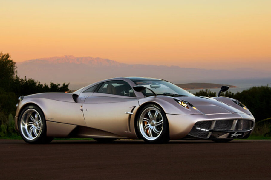 The Pagani Huayra (Courtesy of Pagani Automobili S.p.A.)
