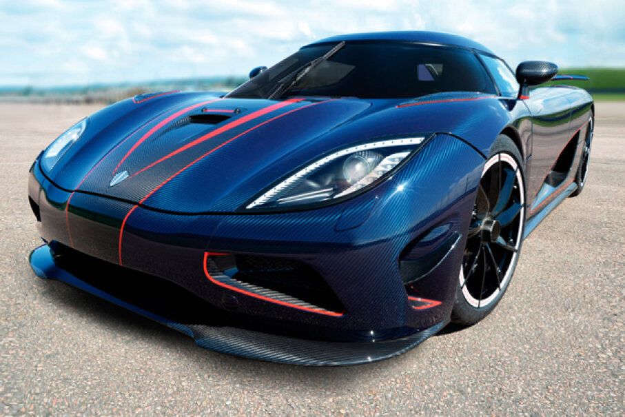 The Koenigsegg Agera R (Courtesy of Koenigsegg Automotive)
