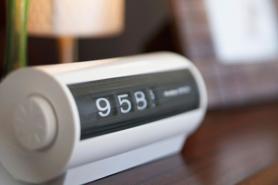 Really? Why would you want to take up bedside table space with an alarm clock these days? ©Fuse/iStock/Thinkstock