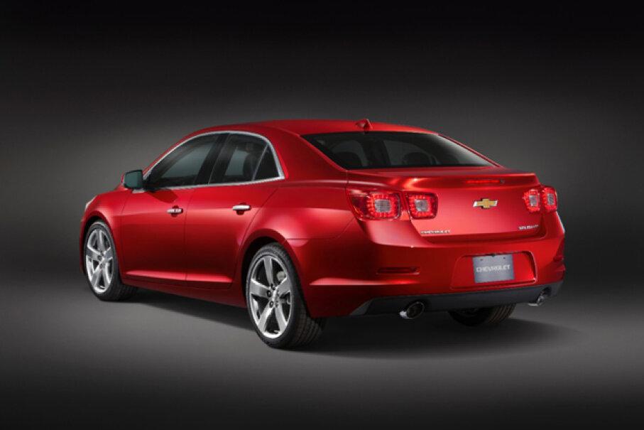 2013 Chevrolet Malibu LTZ © General Motors