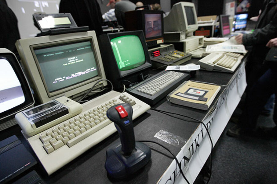 The nostalgia for classic computers is intense -- and for good reason. Lots of the people who would go on to create the tech industry as we know it were e-weaned on machines and accessories like these. © Michal Fludra/Demotix/Corbis