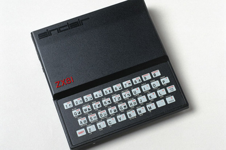 The ZX81 was actually released in a year earlier (1981) in the U.K. -- it wasn't until Sinclair struck a deal with Timex that the computer hit U.S. shelves. SSPL via Getty Images
