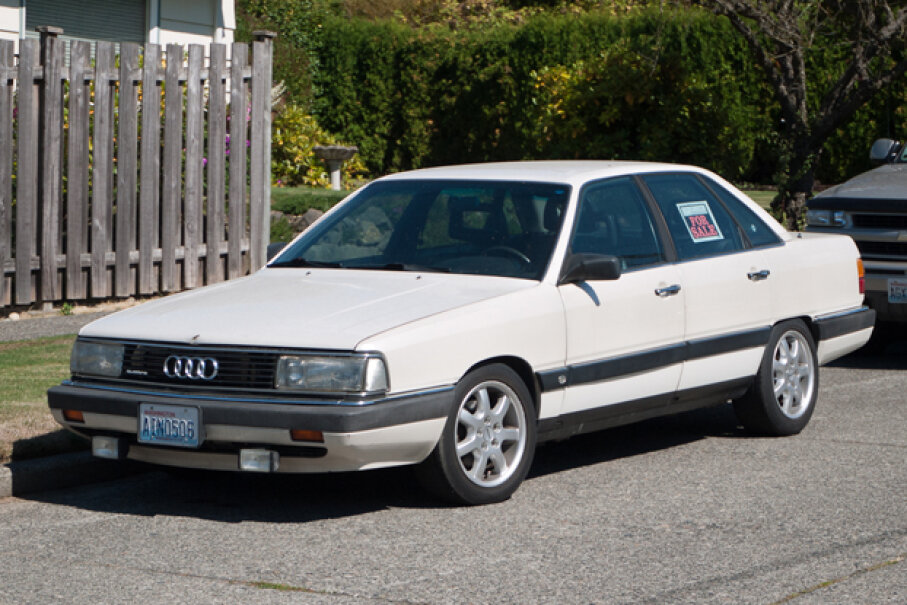 1986 Audi 5000 CS Quattro c5karl, Used Under CC BY 2.0 License