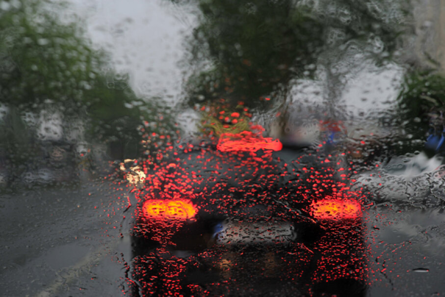 Some cars, like the Acura RLX, can sense the humidity level in the cabin. Frank May/dpa/Corbis