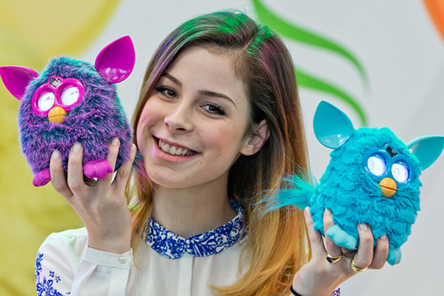 Do you speak fluent Furbish? Furbies continue to evolve, with new versions released every few years. © Daniel Karmann/dpa/Corbis