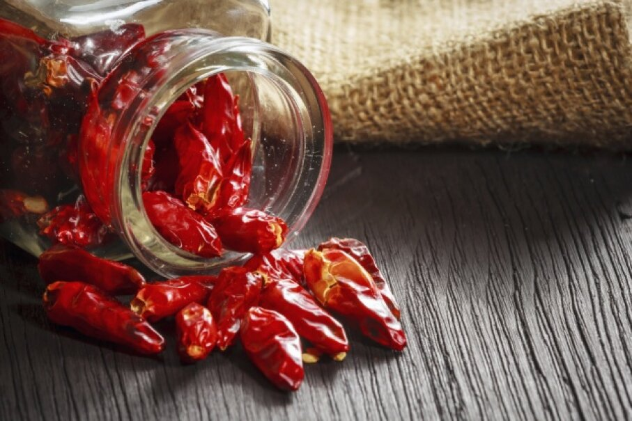 Partaking of some red hot chili peppers could generate an interesting bodily response. dziewul/iStock/Thinkstock