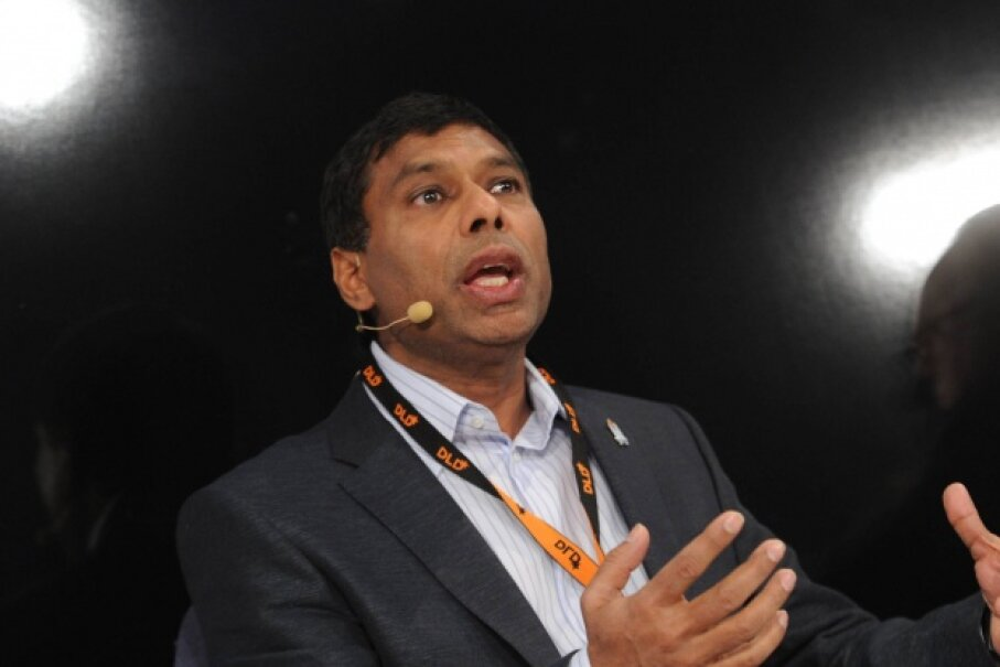 Naveen Jain, the founder of InfoSpace, found himself in legal trouble as the company floundered. © Tobias Hase/dpa/Corbis