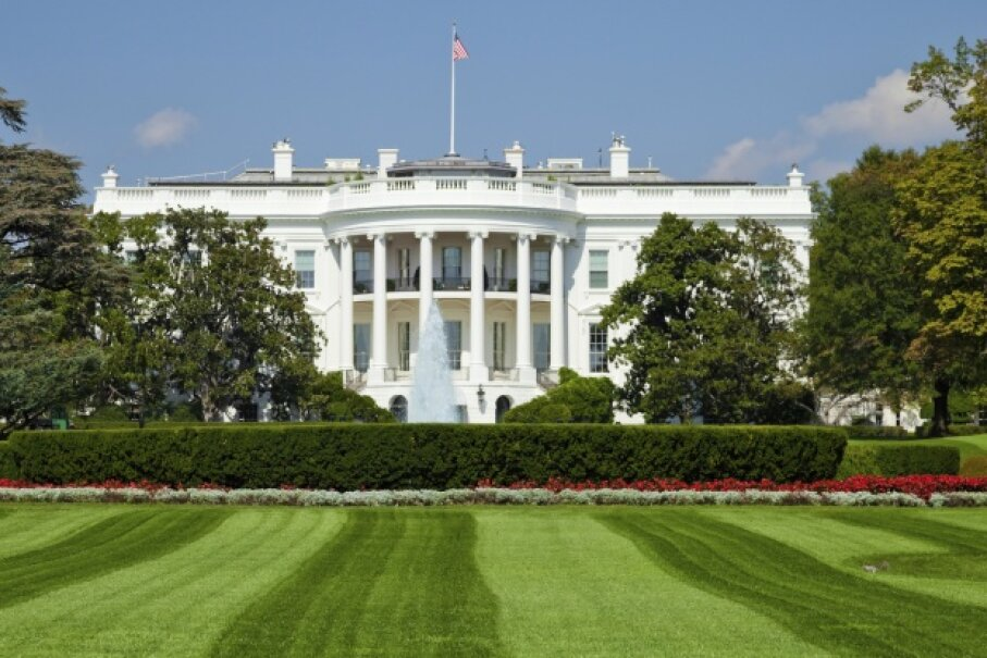 Can you imagine how long it must take to mow the grounds of the White House? kropic/iStock/Thinkstock