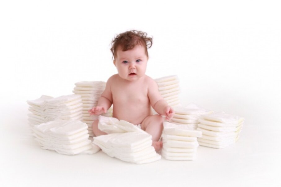 Diapers are a huge expense for parents of any child not quite potty-trained so buying them in bulk can be a big money saver. iStock/Thinkstock